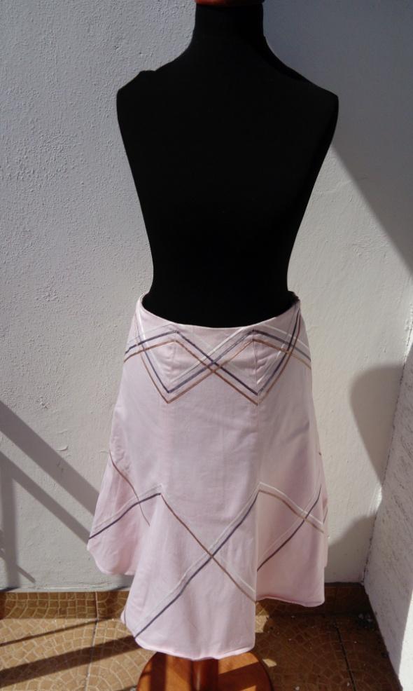 Spódnice Spódnica pudrowy róż S