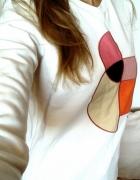 Biała bluza Bench S