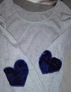 Szara bluzeczka xs