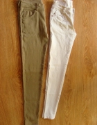 dopasowane spodnie legginsy