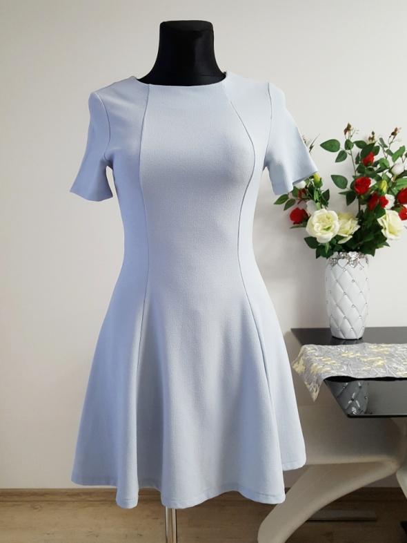 niebieska sukienka Atmosphere