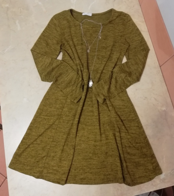 Sukienka Tunika dzianinowa