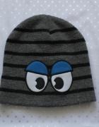 Trzy czapki ciepłe dla chłopca...