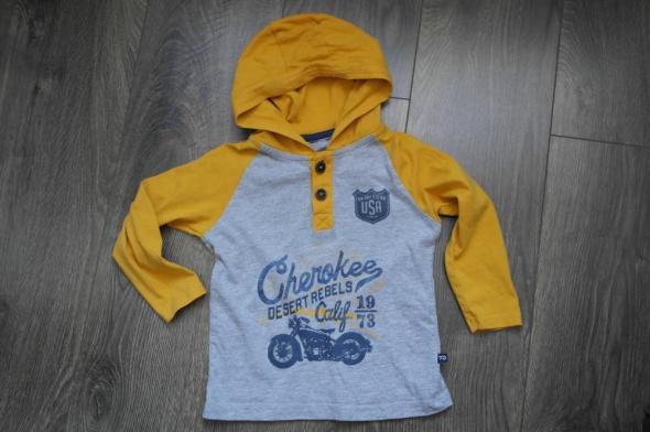 Cherokee bluzka z kapturem 98 104...