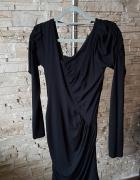 Czarna sukienka z Londynu...