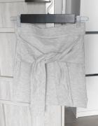 Bershka nowa spódniczka dresowa z węzłem wiązana...