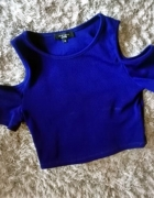 Crop top New Look odkryte ramiona XS S...