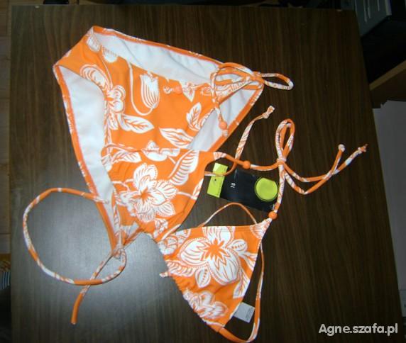 kostium kąpielowy hawajskie bikini nowy