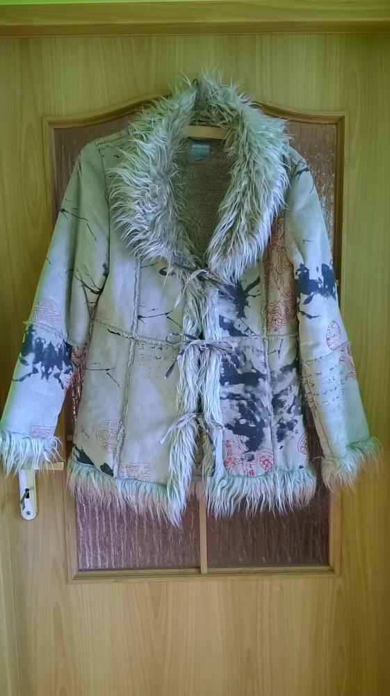 Kożuszek płaszczyk Authentic Style 40 42 L XL