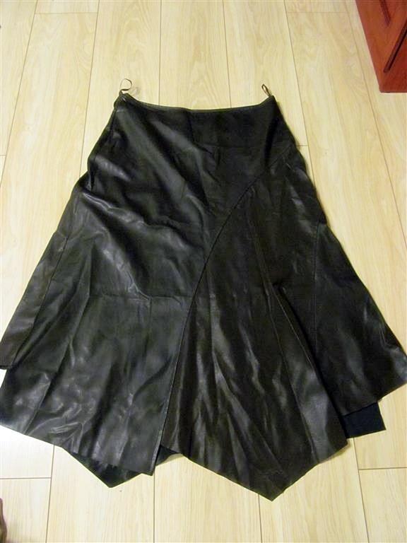 Spódnice oryginalna spódnica 46 ekoskóra brązowa