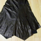 oryginalna spódnica 46 ekoskóra brązowa