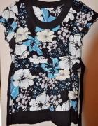 piękna bluzka Papaya 42 w kwiaty...