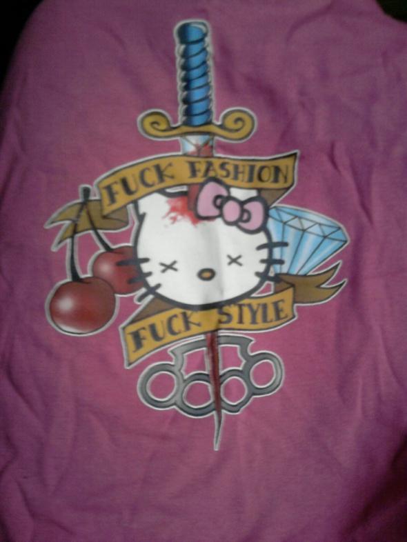 Hello Kitty Fuck Fashion Fuck Style GLOVESTAR