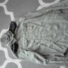Koszula khaki koronka