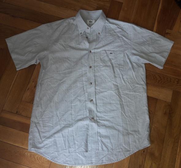 Koszula w kratkę Lacoste męska XL 40