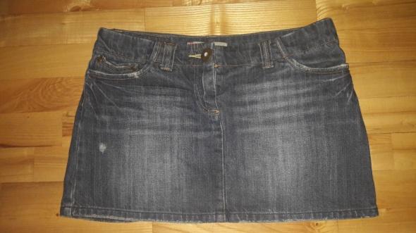 Spódniczka jeansowa Republic M przetarcia