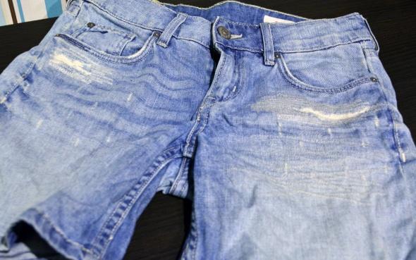 Spodenki Spodenki jeansowe damskie