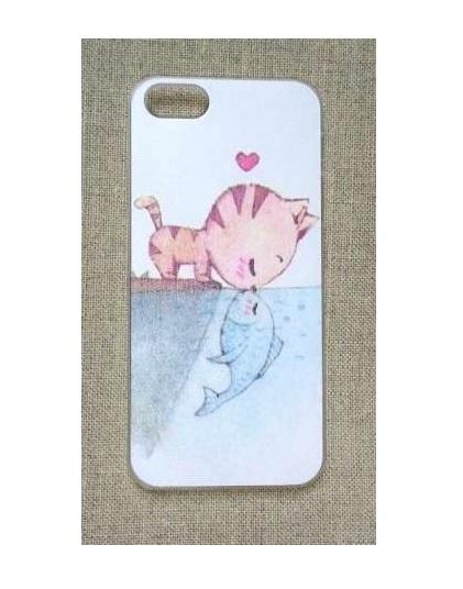 Obudowy i etui Nowe etui case iPhone 4 4S obudowa print wzór kot
