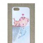 Nowe etui case iPhone 4 4S obudowa print wzór kot