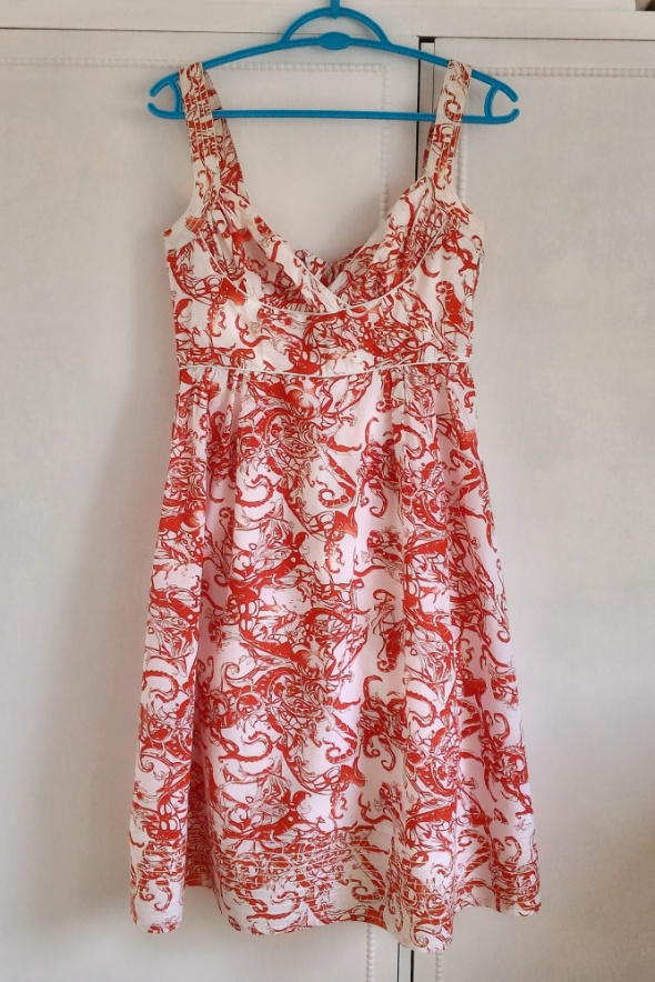 Suknie i sukienki Sukienka Reserved hawajska letnia pin up retro vin