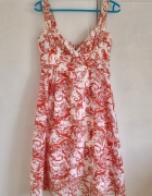 Sukienka Reserved hawajska letnia pin up retro vin...