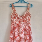 Sukienka Reserved hawajska letnia pin up retro vin