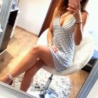 nowa sukienka tunika w paski primark