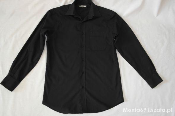 George czarna koszula na guziki rozmiar kołnie 15