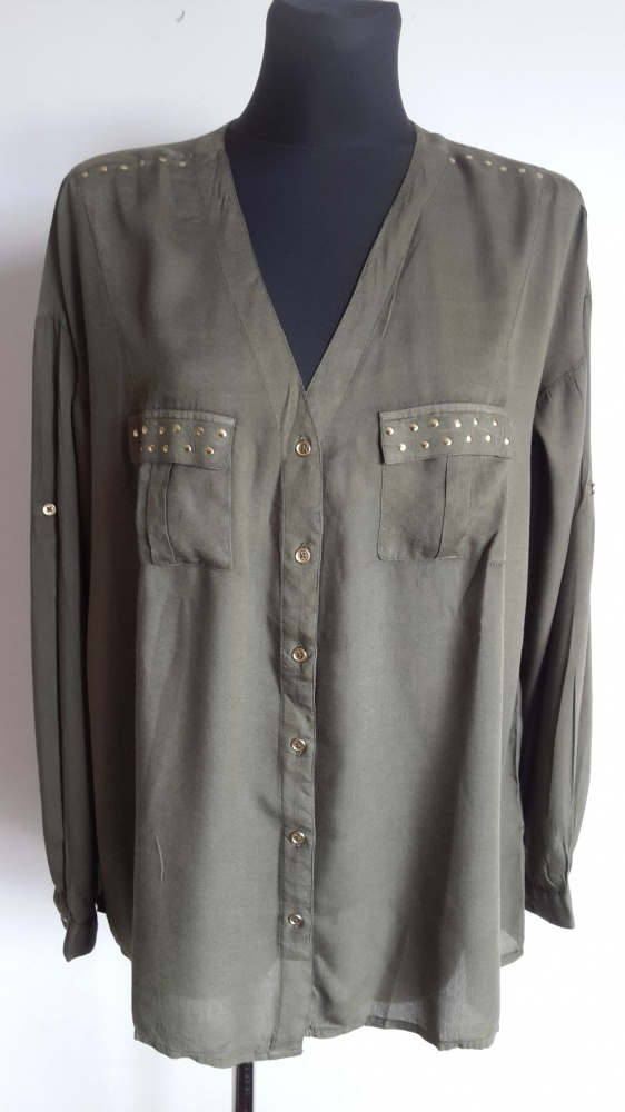 Koszula khaki AJC 40 42