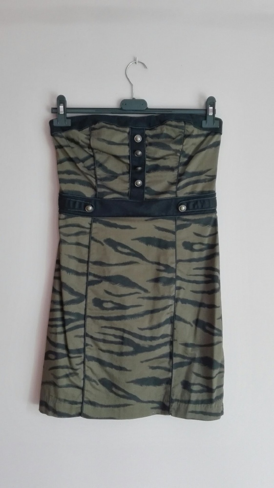 sukienka moro militarna