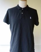 Koszulka Polo Czarna Ralph Lauren XL 42 Skinny Polo...