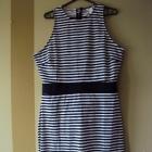 Oryginalna sukienka w paski HiM