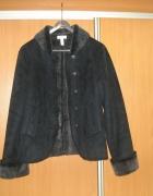kożuszek czarny L 40 Charter Club