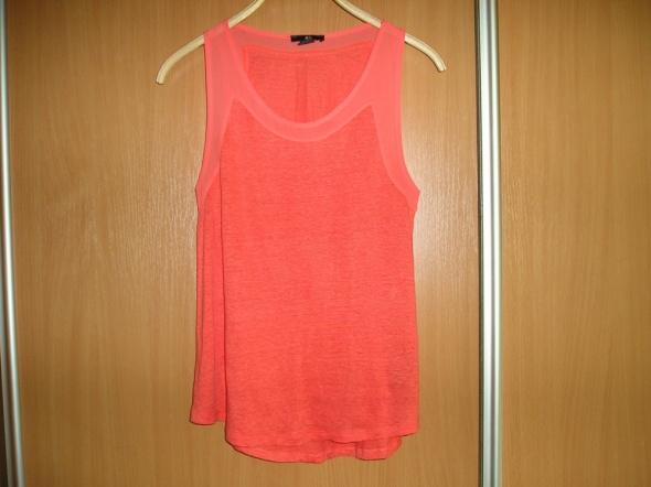 Koszulka pomarańczowa 34 36 H&M