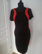 Dopasowana sukienka rozmiar M L stan idealny...