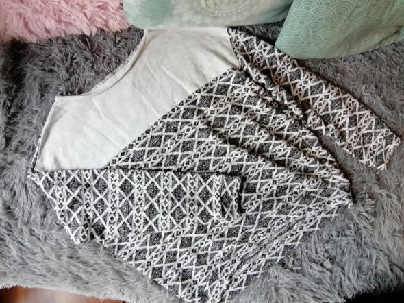 Bluzka bluza asymetryczna norweskie wzory Butik...
