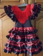 Sukienka Hiszpanka frendzle...