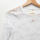 4 KOLORY Koronkowa bluzeczka koszulka vintage retro