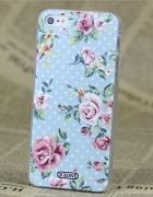 Nowe etui iPhone 4 4S vinatge retro kwiaty wzór sh...