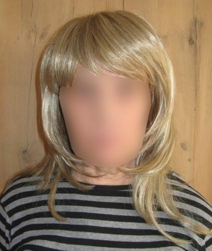 Peruka długi włos