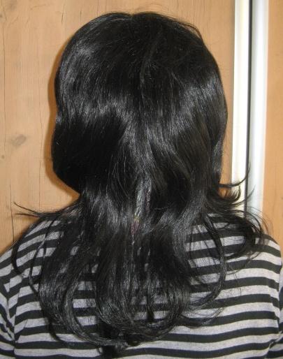 Peruka długi włos 3