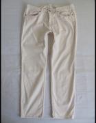 H&M jasne spodnie ECRU rozmiar 40 L stan bdb...