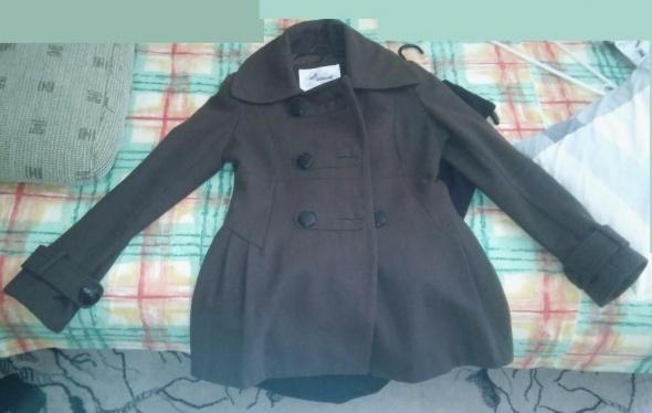 Jesienny płaszcz khaki
