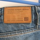 spodnie dziury przetarcia Jack Jones