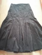 Brązowa spódnica Camaieu bawełna...