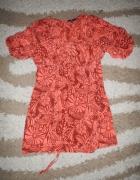 Sukienka jedwabna 46 Jasper Conran jedwab
