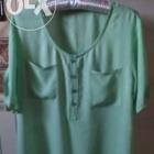 koszula bluzka mgiełka miętowa uniwersalna