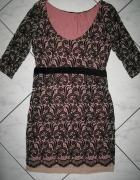 NEXT sukienka orientalny wzór koronka roz 38...