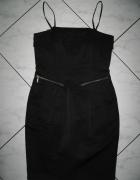 NEXT czarna sukienka z fiszbinami roz 34...