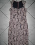 NEXT by Geri elegancka koronkowa sukienka roz 34...